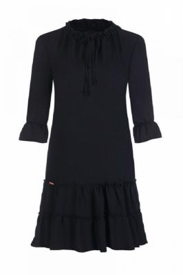 Rochie eleganta model 108534 Jersa negru