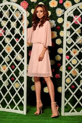 Rochie eleganta model 116837 Lemoniade roz