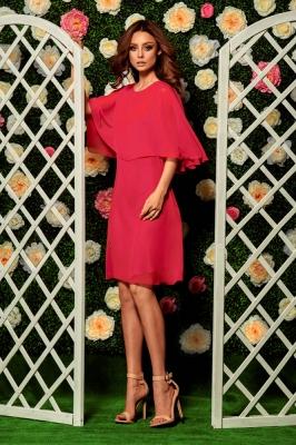 Rochie eleganta model 116838 Lemoniade rosu