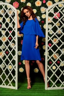 Rochie eleganta model 116839 Lemoniade albastru