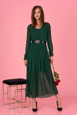 Rochie eleganta model 150848 Merribel verde