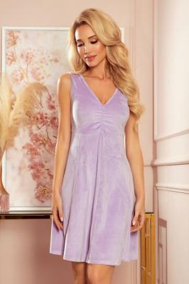Rochie eleganta model 153754 Numoco violet