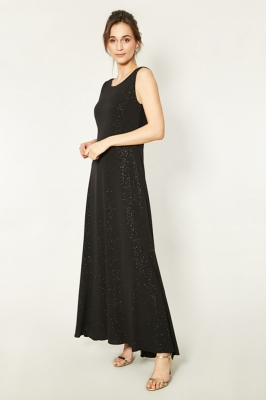 Rochie de seara lunga eleganta Model 150247 Click Fashion negru