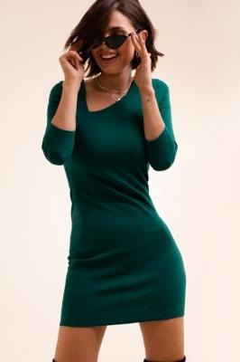 Rochie scurta model 150341 IVON verde
