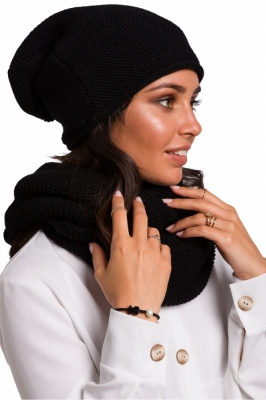 Caciula beanie Model 136402 BE Knit negru