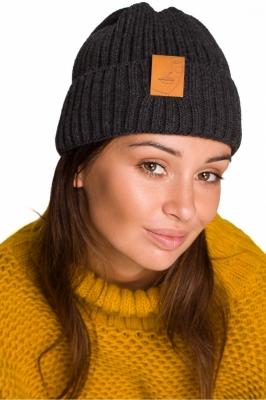Caciula groasa tricotata Model 148907 BE Knit gri