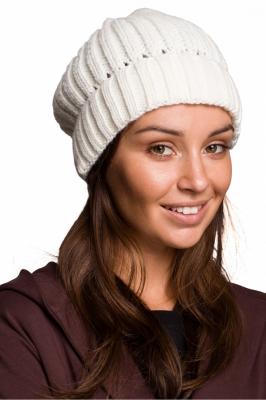 Caciula groasa tricotata Model 148908 BE Knit bej