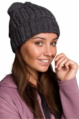 Caciula groasa tricotata Model 148909 BE Knit gri