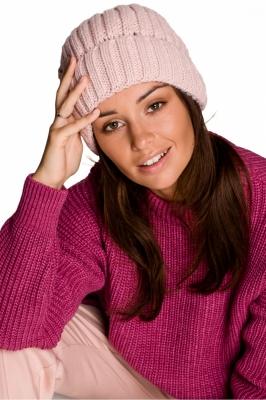 Caciula groasa tricotata Model 148910 BE Knit roz
