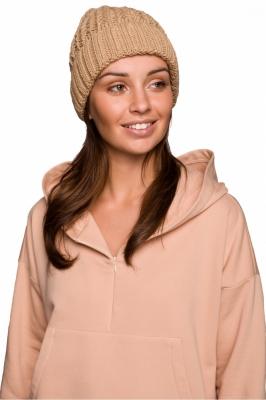 Caciula tricotata iarna Model 148913 BE Knit bej