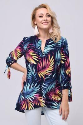 Bluza cu imprimeu floral Model 146053 Vitesi multicolor