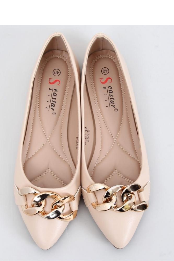 Balerini eleganti Model 152259 Inello bej