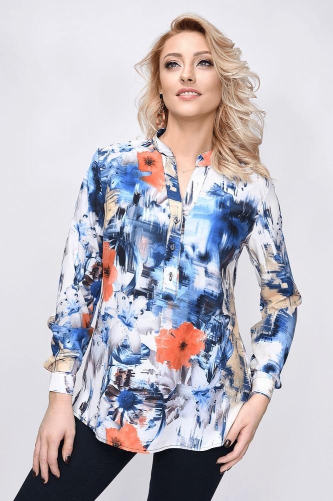 Bluza cu imprimeu floral Model 140422 Vitesi multicolor