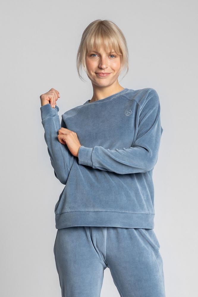 Bluza maneca lunga Model 150471 LaLupa albastru
