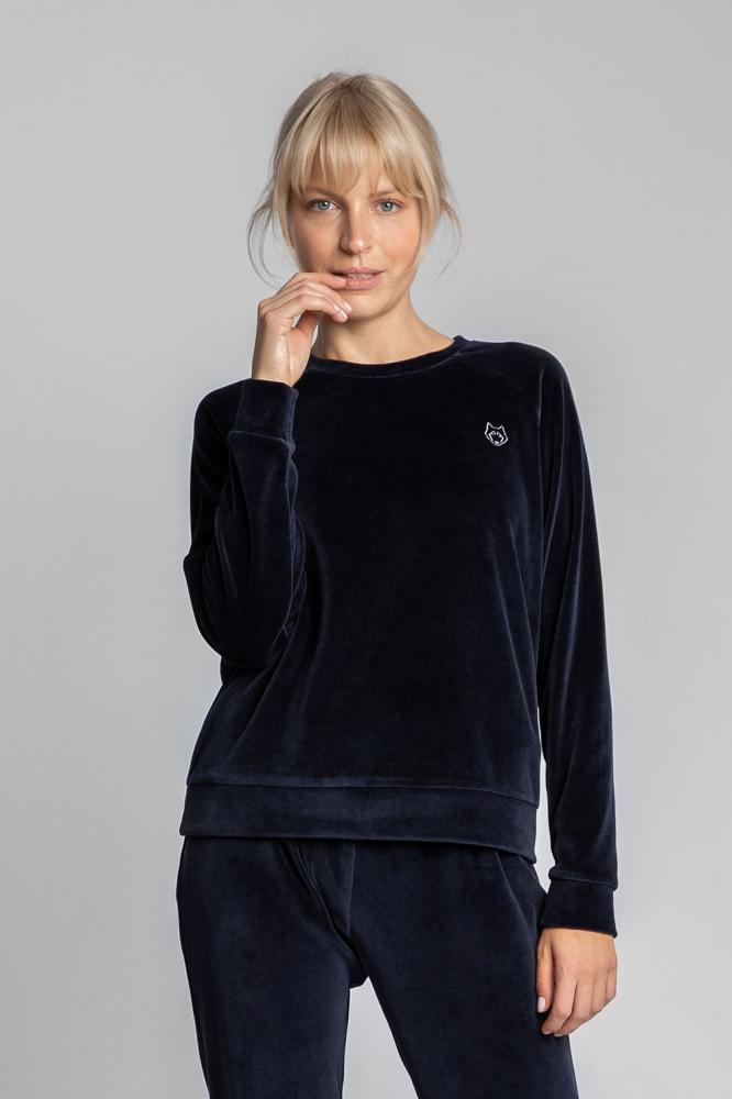 Bluza sport maneca lunga Model 150472 LaLupa Bleumarin
