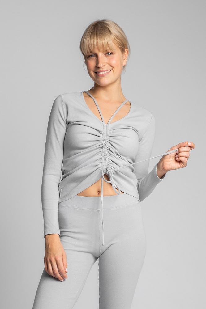 Bluza mulata Model 150493 LaLupa gri