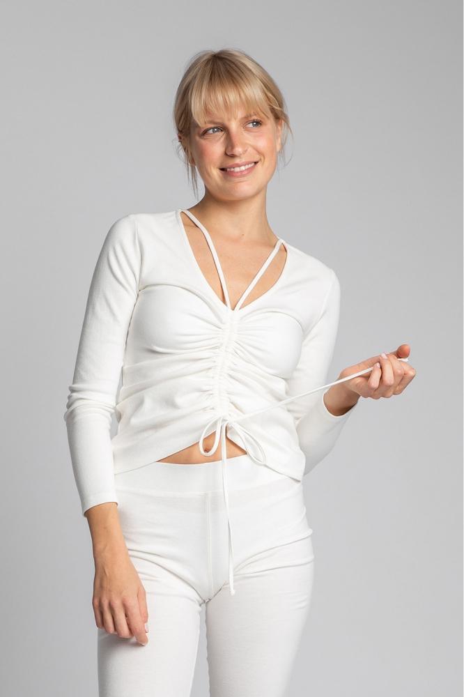 Bluza mulata Model 150494 LaLupa bej