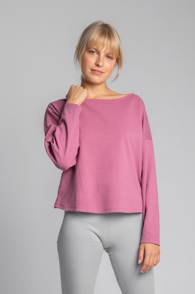 Bluza simpla Model 150497 LaLupa roz
