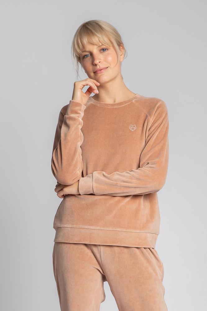 Bluza maneca lunga Model 150630 LaLupa bej