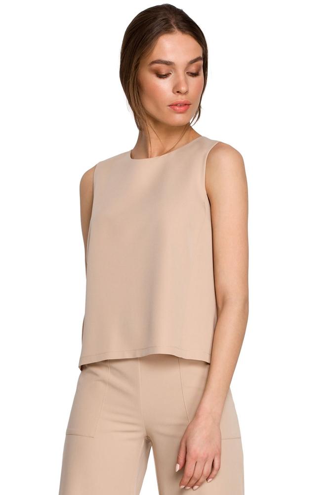 Bluza model 154105 Style bej