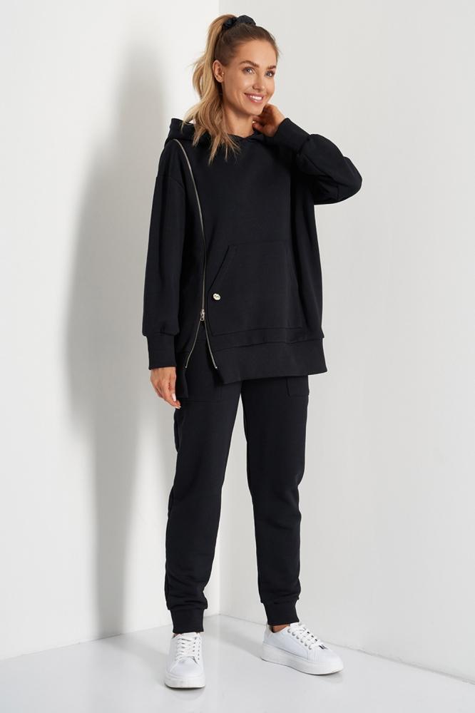 Bluza cu gluga Model 157700 Lemoniade negru