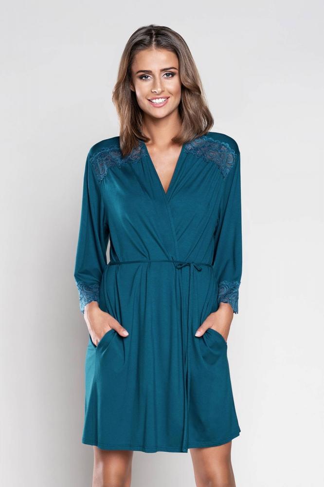 Camasa de noapte model 125706 Italian Fashion albastru