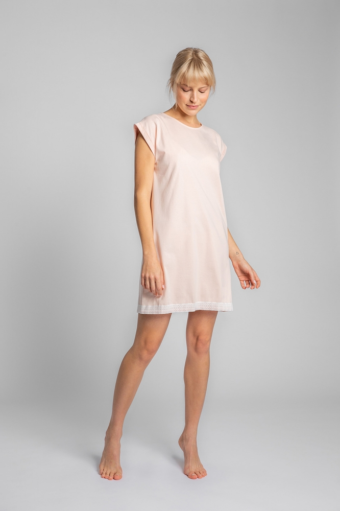 Camasa de noapte model 150476 LaLupa roz