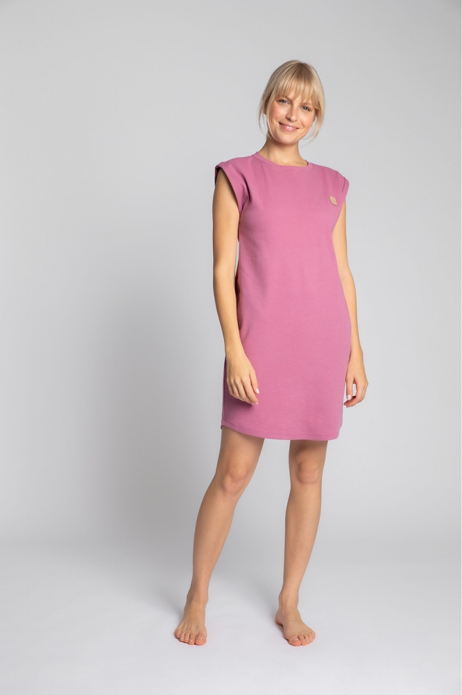 Camasa de noapte model 150521 LaLupa roz
