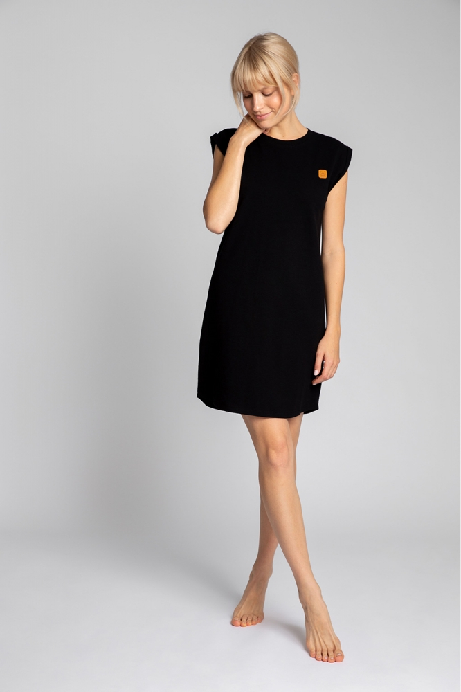 Camasa de noapte model 150524 LaLupa negru