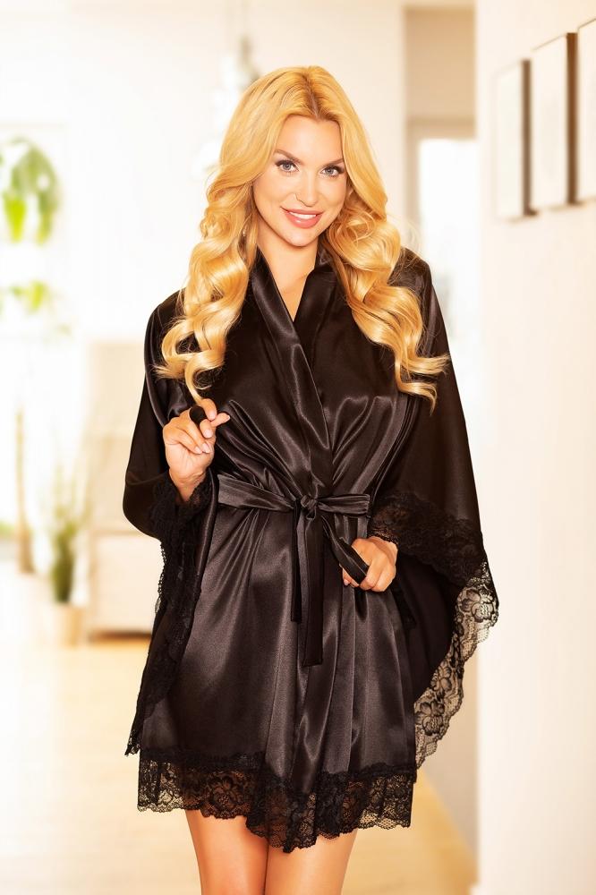 Camasa de noapte model 157911 Kalimo negru