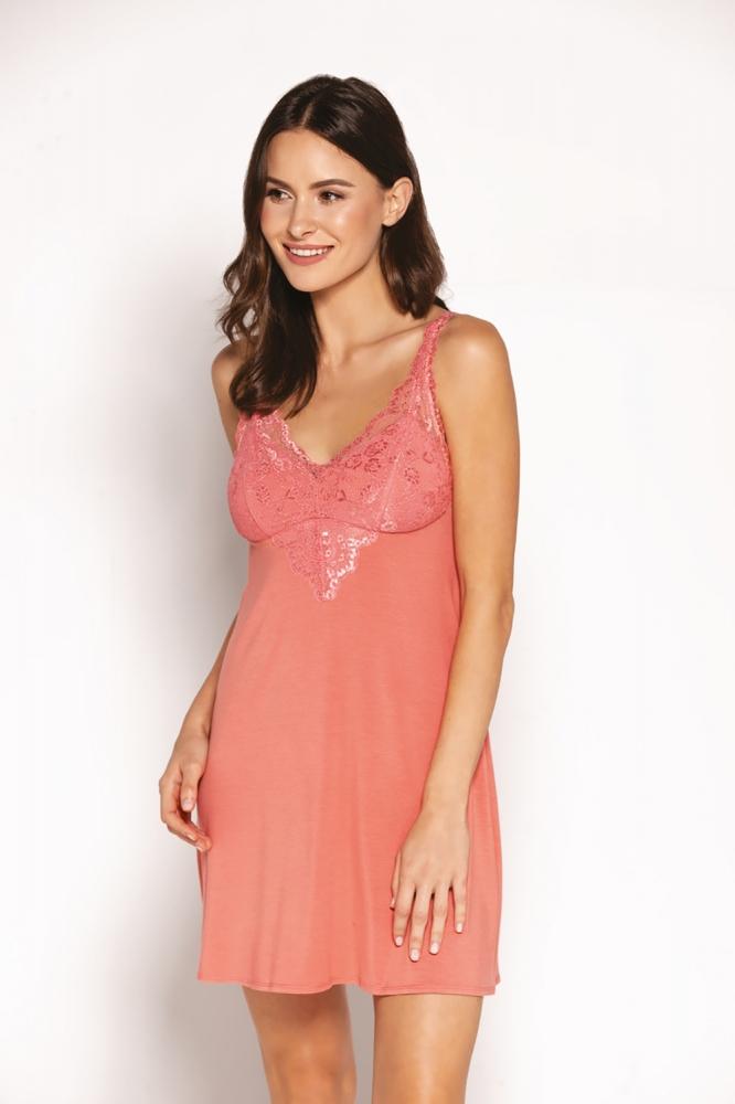 Camasa sexy model 153218 Babella roz