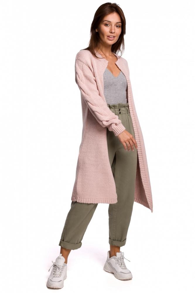 Cardigan elegant iarna Model 148257 BE Knit roz