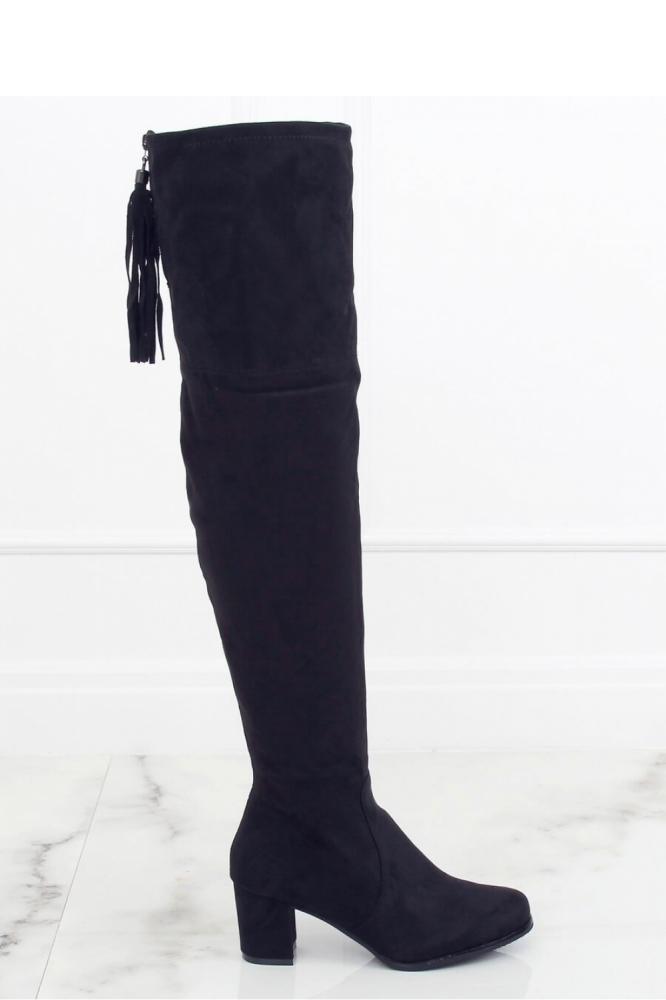 Cizme muschetar model 150996 Inello negru