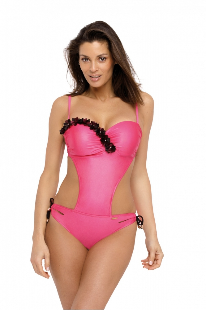 Costum de baie intreg model 129278 Marko roz