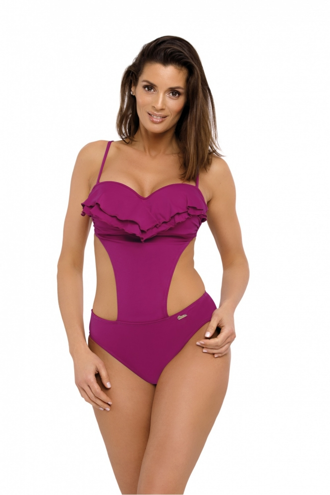 Costum de baie intreg model 129488 Marko violet