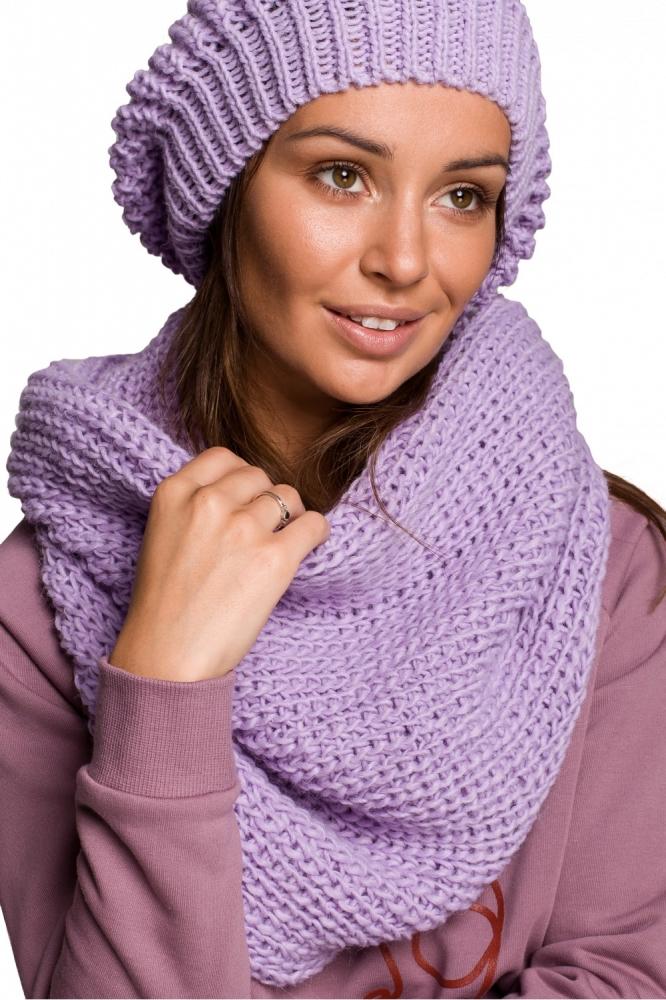 Esarfa Infinity model 148897 BE Knit violet