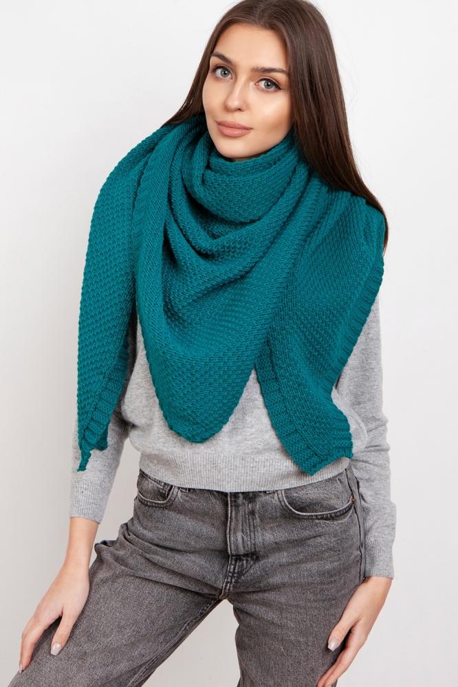 Fular tricotat Model 151069 Lanti verde