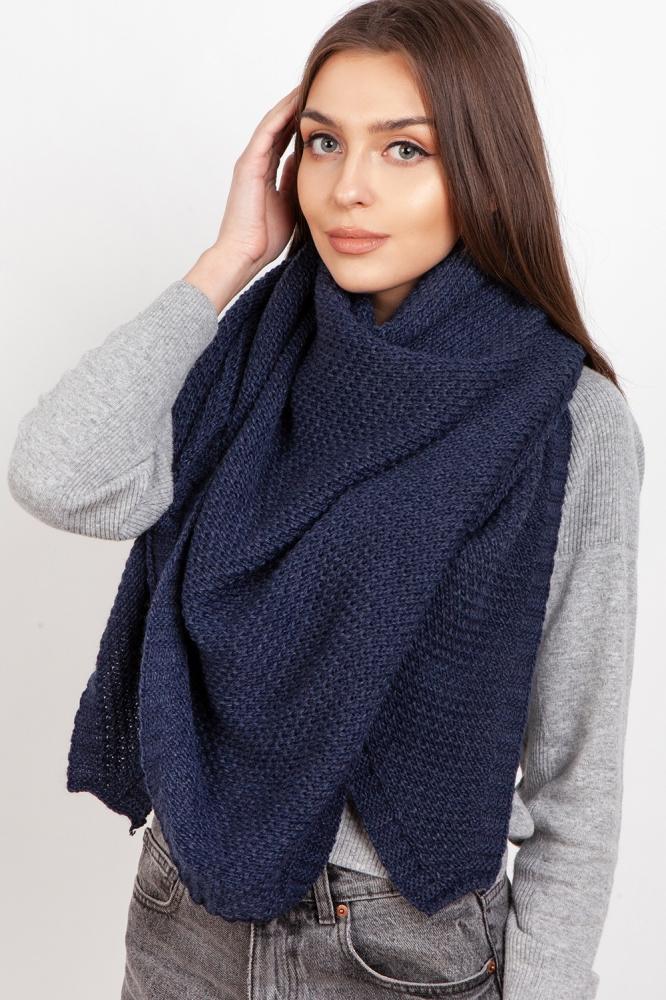 Fular tricotat Model 151071 Lanti albastru