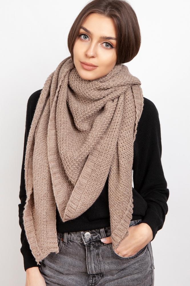 Fular tricotat Model 151072 Lanti maro
