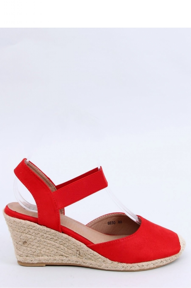 Sandale cu platforma Model 153956 Inello rosu