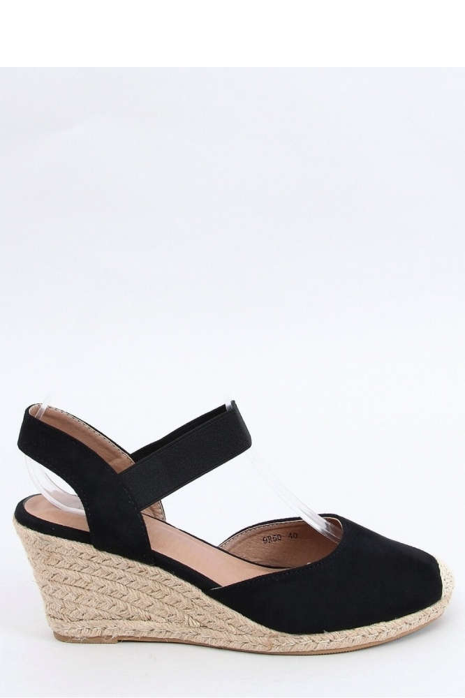 Sandale cu platforma Model 153957 Inello negru