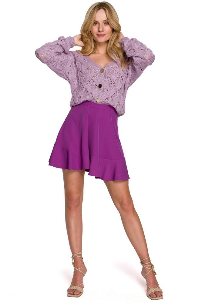 Fusta clos scurta Model 153794 Makover violet