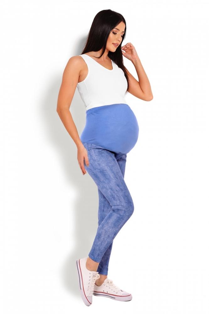 Colanti gravide Model 125822 PeeKaBoo albastru