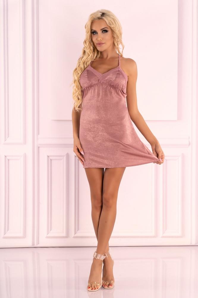 Lenjerie sexy completa model 150288 Livia Corsetti Fashion roz
