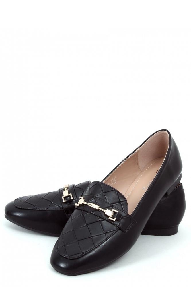 Mocasini eleganti Model 153930 Inello negru
