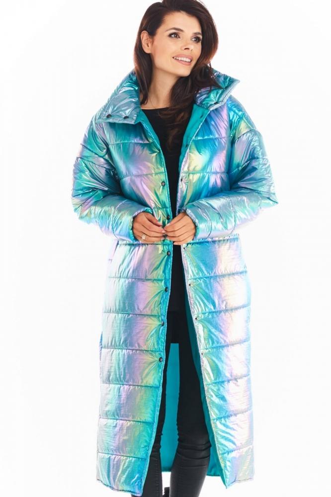 Palton model 149750 awama albastru