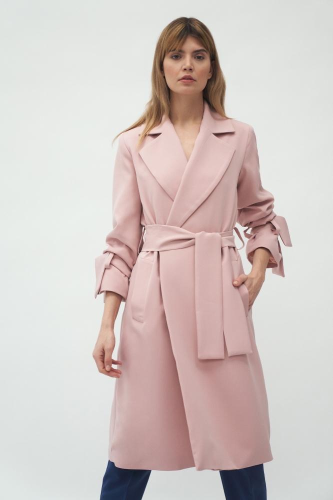 Palton primavara Model 153698 Nife roz