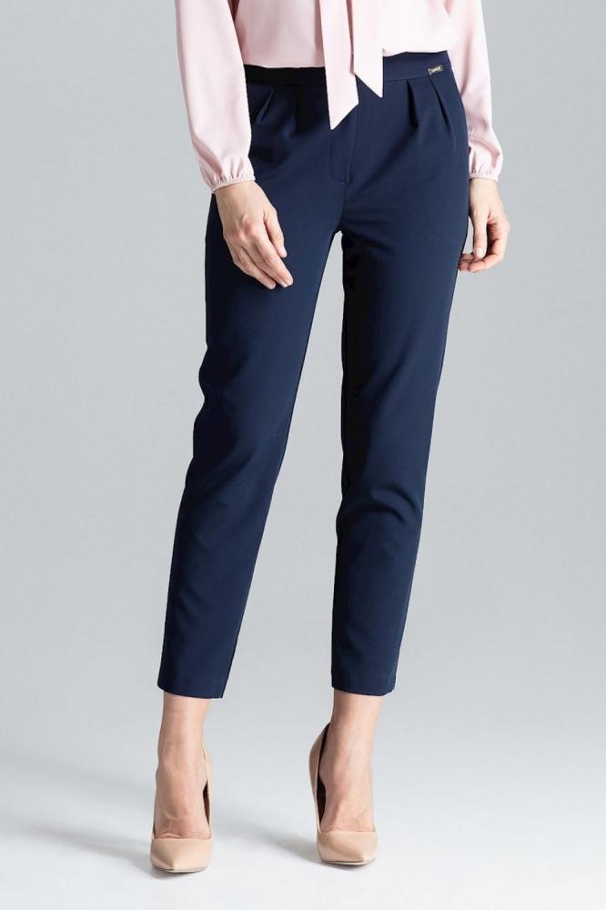 Pantaloni lungi office Model 130970 Lenitif Bleumarin