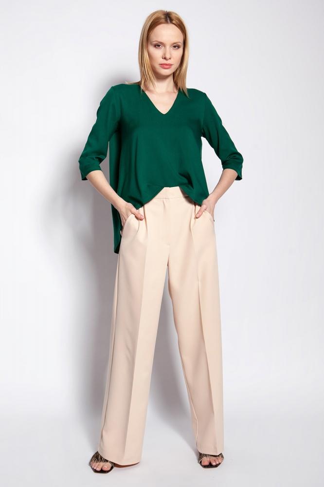 Pantaloni de dama model 151149 Lanti bej