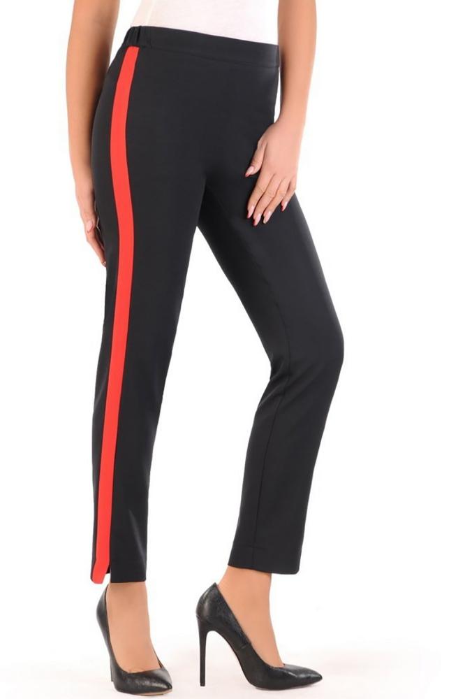 Pantaloni eleganti Model 152077 Jersa negru